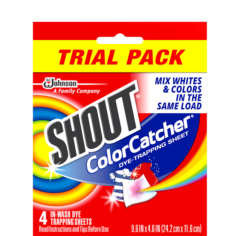 Shout Color Catcher 4 Sheets