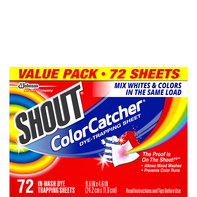 Shout Color Catcher 72 Sheets