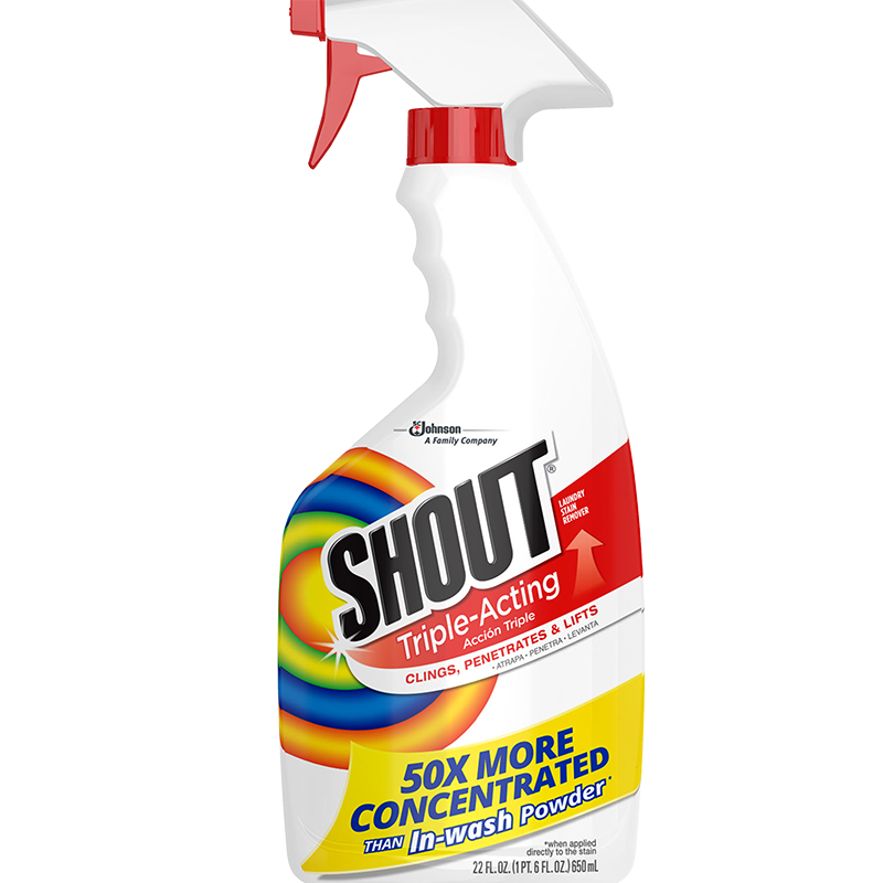 Shout Triple Acting Stain Remover 22 Ounce